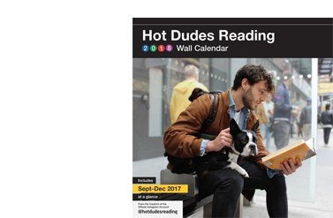 Hot Dudes Reading 2018 Book Cover